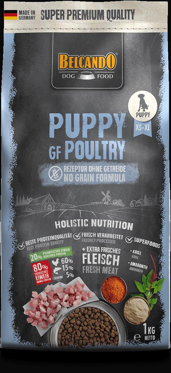 Belcando-Puppy-GF-Poultry-1kg-front