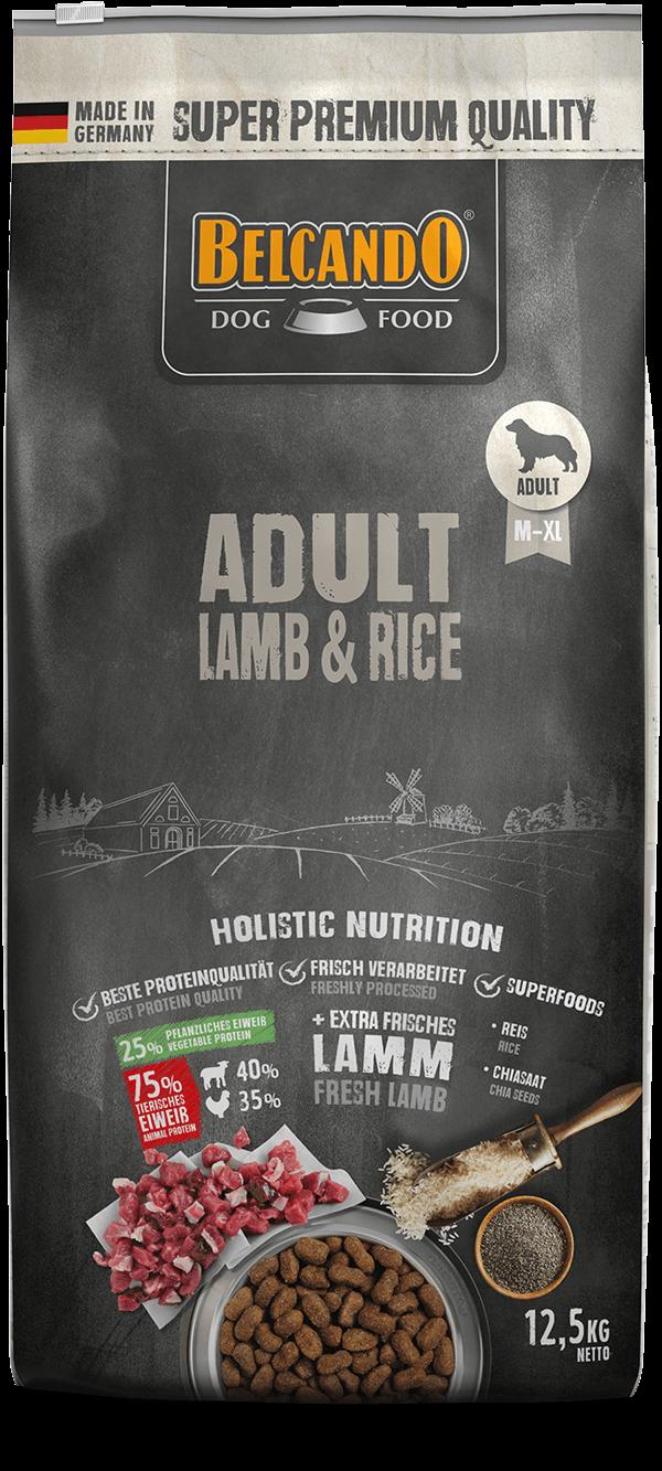 Belcando-Adult-Lamb-Rice-12kg-front