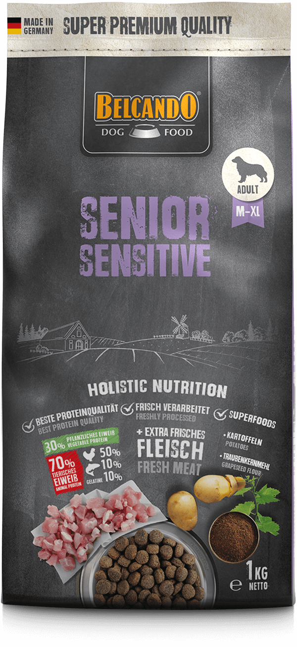 Belcando-Senior-Sensitive-1kg-front